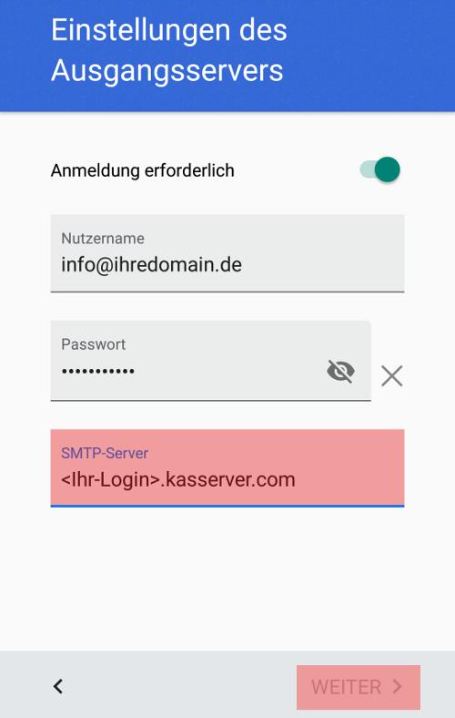 Gmail App - E-Mail-Konto einrichten, Bild 7