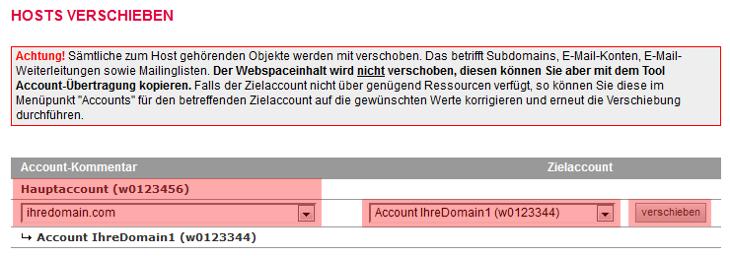 Accountübertragung - Accountverschiebung, Bild 10
