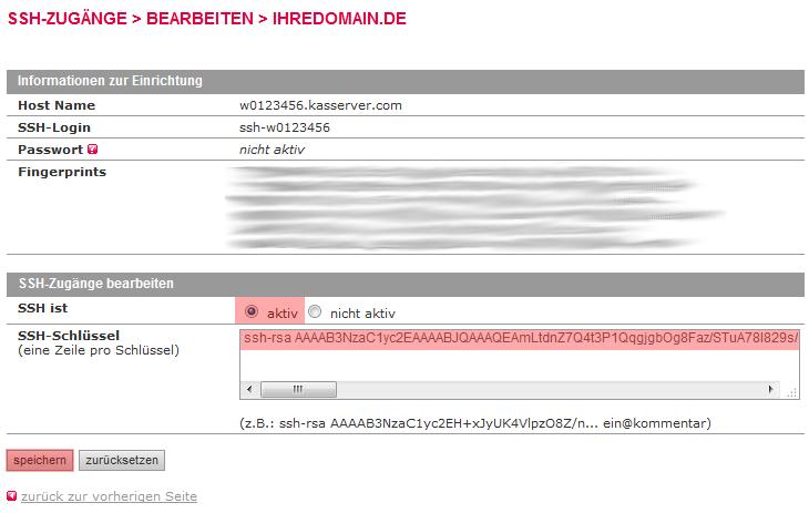 Dateiverwaltung - Verbindung mit PuTTY aufbauen (Public-Key-Verfahren), Bild 8