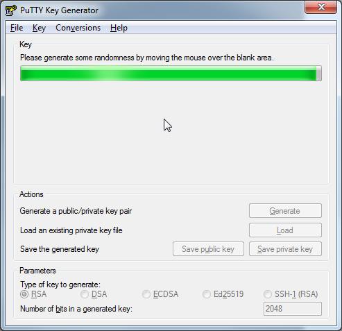 Dateiverwaltung - Verbindung mit PuTTY aufbauen (Public-Key-Verfahren), Bild 3
