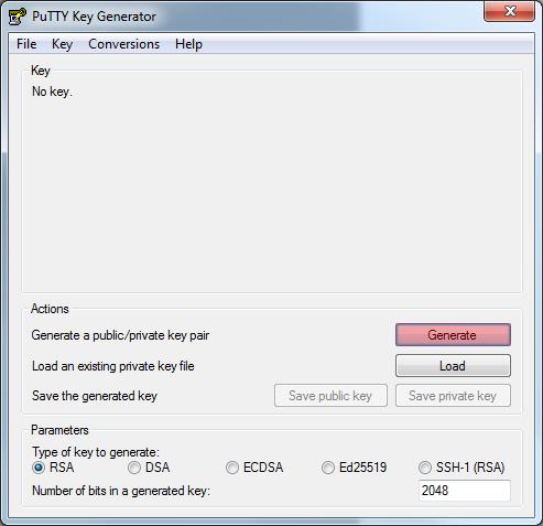 Dateiverwaltung - Verbindung mit PuTTY aufbauen (Public-Key-Verfahren), Bild 2