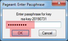 Dateiverwaltung - Verbindung mit PuTTY aufbauen (Public-Key-Verfahren), Bild 13