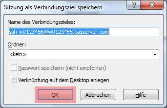 WinSCP 5.7.7 - Verbindung per SFTP (Public-Key-Verfahren), Bild 14