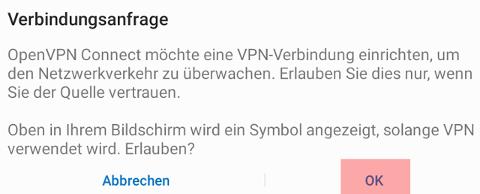 Einbindung als Netzlaufwerk - Netzlaufwerk über VPN verbinden - Android, Bild 7