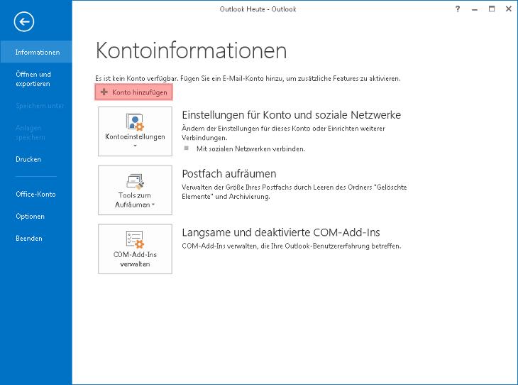 Outlook - 2013, Bild 2