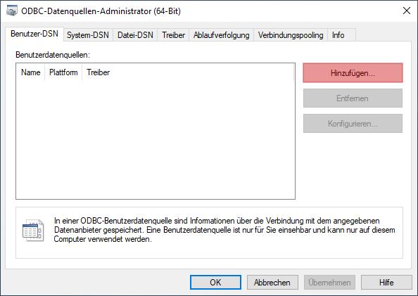 ODBC-Verbindung zu MySQL - Einrichtung der Verbindung unter Windows 10, Bild 3