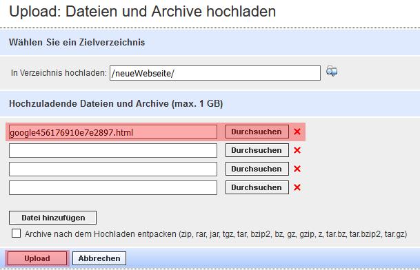 Google Search Console - neue Domain hinzufügen, Bild 7