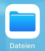 Einbindung als Netzlaufwerk - Netzlaufwerk einbinden - iOS, Bild 1
