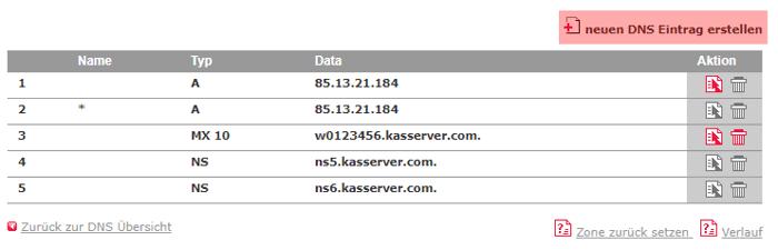 DNS-Werkzeuge - SPF, Bild 1