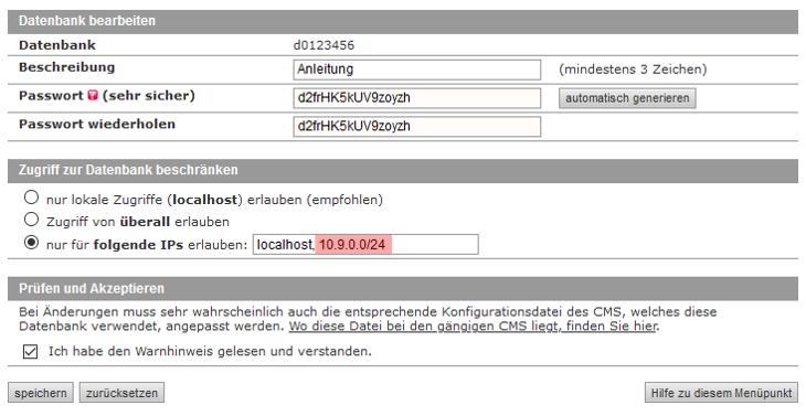 MySQL-Datenbank - Verbindung per VPN zur Datenbank, Bild 10