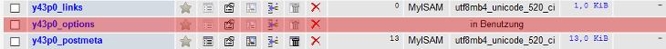 phpMyAdmin - Tabellen reparieren, Bild 2