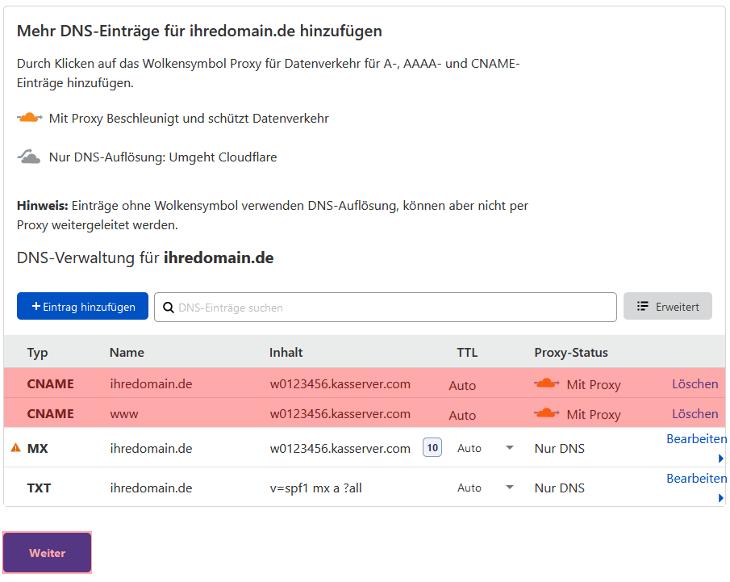 DNS-Werkzeuge - Cloudflare, Bild 7