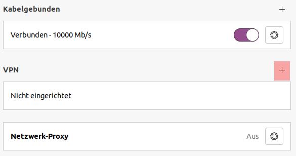 Einbindung als Netzlaufwerk - Netzlaufwerk über VPN verbinden - Ubuntu Gnome, Bild 6