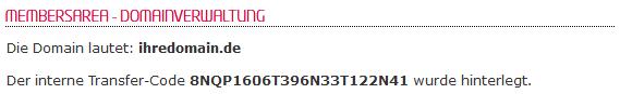 so funktioniert ein interner Wechsel - Freigabe der Domain, Bild 6