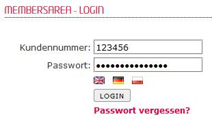 so funktioniert das Bestellen einer Domain - Bestellen der Domain in der MembersArea (Neuregistrierung), Bild 2