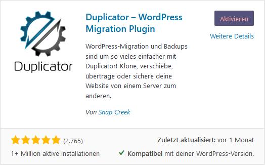 WordPress - Übertragung von WordPress, Bild 4