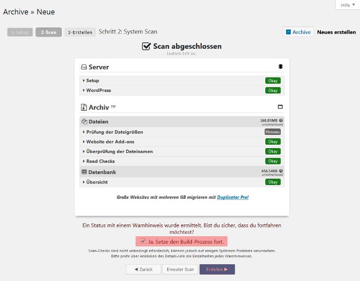 WordPress - Übertragung von WordPress, Bild 8