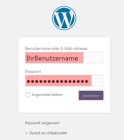 WordPress - Übertragung von WordPress, Bild 1