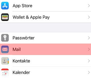 iOS Mail - SMTP-Authentifizierung aktivieren, Bild 2