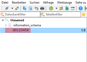 HeidiSQL - Datenbank einspielen / importieren, Bild 1