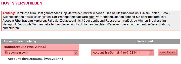 Accountübertragung - Accountverschiebung, Bild 13