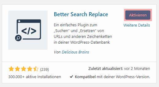WordPress - Änderung der Domain, Bild 6