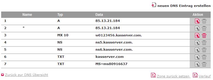 DNS-Werkzeuge - TXT-Record, Bild 3