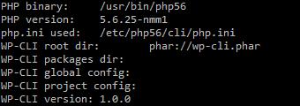 WP-CLI: Command line interface für WordPress - Installation, Bild 4