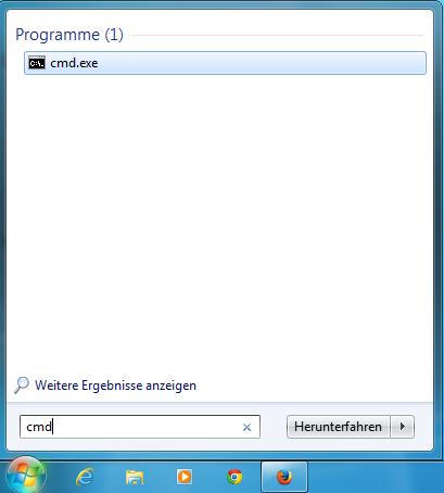 Portverbindungen zur Domain per Telnet testen - Anleitung über Windows-Kommandozeile, Bild 1