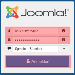 Joomla 3.8 - Übertragung von Joomla, Bild 1