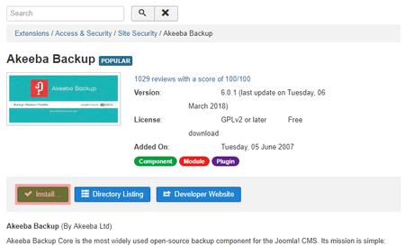 Joomla 3.8 - Übertragung von Joomla, Bild 5