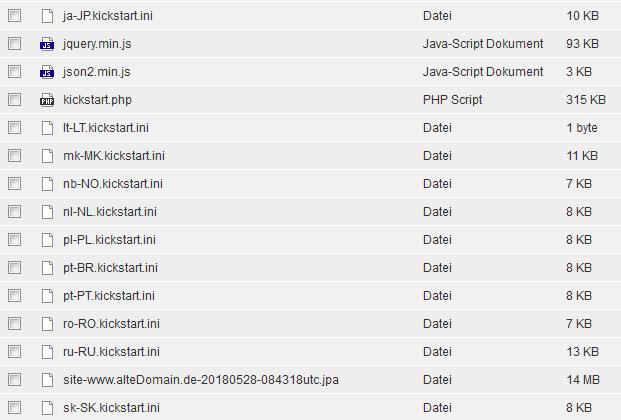 Joomla 3.8 - Übertragung von Joomla, Bild 13