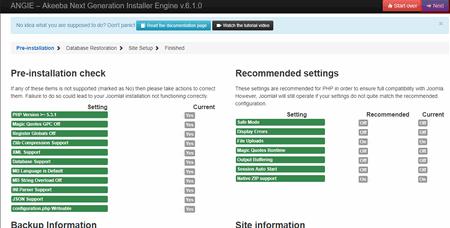 Joomla 3.8 - Übertragung von Joomla, Bild 17