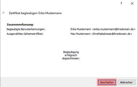 PGP-Verschlüsselung - Installation unter Windows, Bild 17