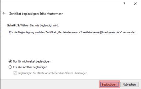 PGP-Verschlüsselung - Installation unter Windows, Bild 15