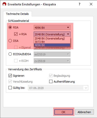PGP-Verschlüsselung - Installation unter Windows, Bild 4