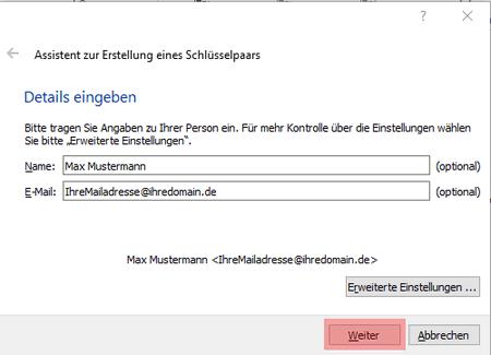 PGP-Verschlüsselung - Installation unter Windows, Bild 5