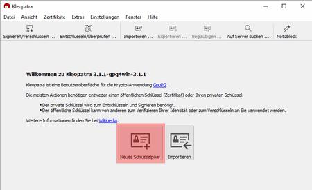 PGP-Verschlüsselung - Installation unter Windows, Bild 2
