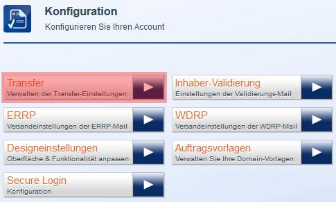 Einstellungen - Registrar Lock (Sperre), Bild 3
