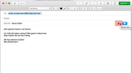 PGP-Verschlüsselung - Mail, Bild 2