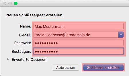 PGP-Verschlüsselung - Installation unter macOS, Bild 2