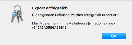 PGP-Verschlüsselung - Installation unter macOS, Bild 6