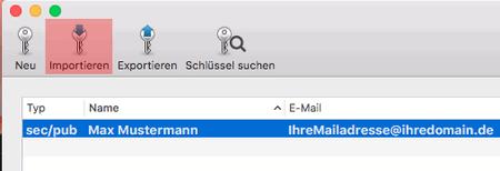 PGP-Verschlüsselung - Installation unter macOS, Bild 7