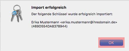 PGP-Verschlüsselung - Installation unter macOS, Bild 9
