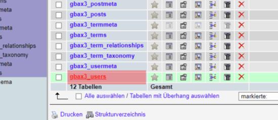 Wordpress - Passwortänderung, Bild 3