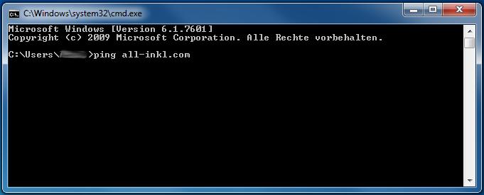 Domainerreichbarkeit per Ping testen - Anleitung über Windows-Kommandozeile, Bild 2