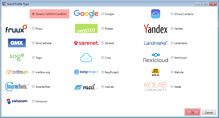 CalDAV - Kalenderfunktion - Outlook 2013, Bild 4
