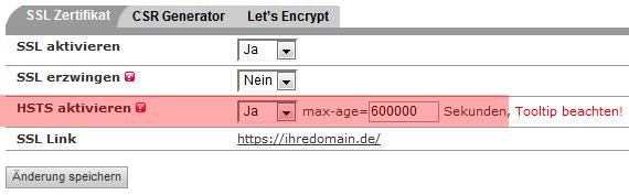 SSL-Zertifikat - Aktivierung von HSTS, Bild 4