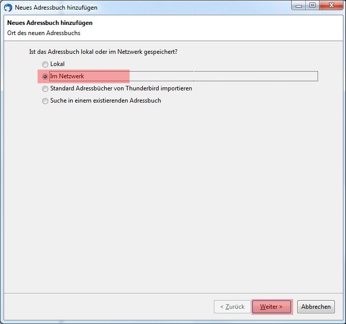 CardDAV - Synchronisierung von Kontakten - Thunderbird CardBook, Bild 4