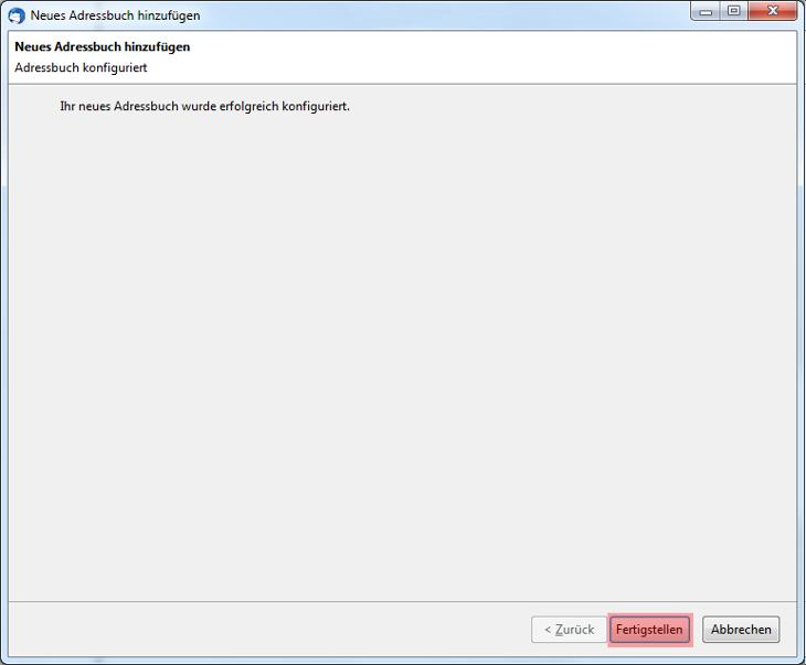 CardDAV - Synchronisierung von Kontakten - Thunderbird CardBook, Bild 8